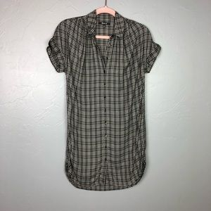 🐢Madewell button down dress size XS